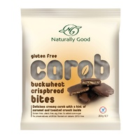 Naturally Good Carob Buckwheat Crisbread Bites 200g