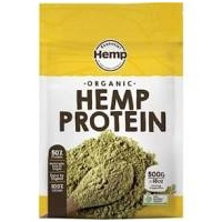 Hemp Foods Australia Organic Hemp Protein Plant-Based Wholefood Powder 500g