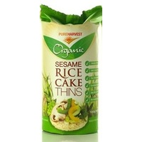 Pure Harvest Sesame Rice Cakes 150g