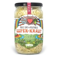 Peace Love & Vegetables Dill Sauerkraut 580g