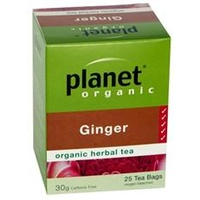 Planet Organics Ginger Herbal Tea 25 Teabags