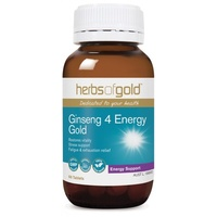 Herbs of Gold Ginseng 4 Energy Gold 30 tablets