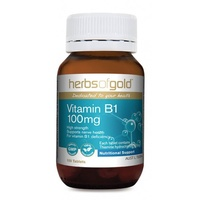Herbs of Gold Vitamin B1 100mg - 100 Tabs