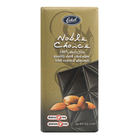 Noble Choice Dark Chocolate with Almonds 85g