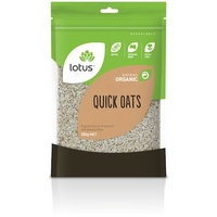 Lotus Organic Quick Oats 500g