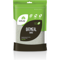 Lotus Oatmeal (Coarse) 400g