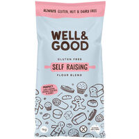 Well & Good Self Raising Flour 1kg