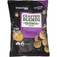 Freedom Foods Quinoa Chips Salt & Apple Cider Vinegar 100g