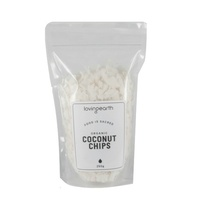 Loving Earth Organic Coconut Chips 250g