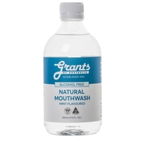 Grants Xylitol Natural Mouthwash Mint Flavoured 500ml