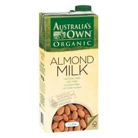 Australias Own Organic Almond Milk 1L