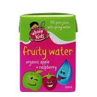 Whole Kids Organic Fruity Water (Apple & Raspberry) 200ml