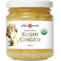 The Ginger People Organic Pickled Sushi Ginger 190g