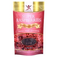 Dr Superfoods Dried Raspberries 125g