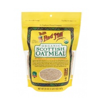 Bobs Red Mill Organic Scottish Oatmeal 567g