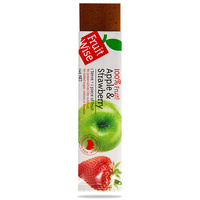 Fruit Wise Apple & Strawberry Fruit Straps (Single Serve 14g)