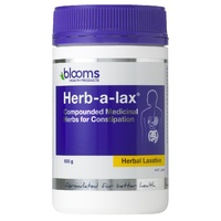 Blooms Herb-a-lax Compounded Medicinal Herbs for Constipation 100g