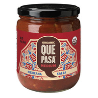 Que Pasa Medium Mexicana Salsa 454g