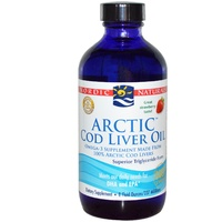 Nordic Naturals Artic Cod Liver Oil Strawberry 237ml