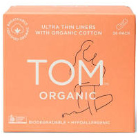 TOM Organic Ultra Thin Liners (26 Pack)