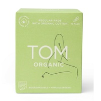 TOM Organic Regular Pads (10 Pack)