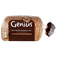 Genius Soft Brown Sandwich Loaf 535g