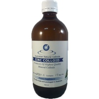 Australian Natural Colloids Zinc Colloid 500ml