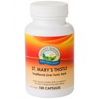 Nature's Sunshine St Mary's Thistle 100 Capsules