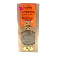 Gourmet Bush Foods Chicken Korma & Vegetarian Potato Curry Spice Mix 60g (ORANGE)