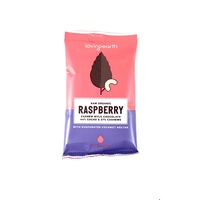 Loving Earth Raw Organic Raspberry Cashew Mylk Chocolate Snack Size 30g