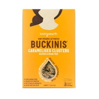 Loving Earth Raw Organic Activated Caramelised Buckinis Clusters 400g