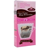 Melindas Gluten Free Choc Fudge Mug Brownies 4 Serves 200g