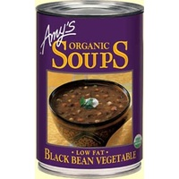Amys Black Bean Vegetable Soup 411g