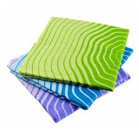 Full Circle Pulp Friction Wood Fiber Cleaning Cloths 3 Pack