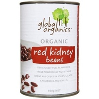 Global Organics Red Kidney Beans 400g