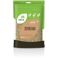 Lotus Organic Soybeans 500g