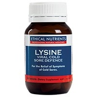 Ethical Nutrients Lysine Viral Cold Sore Defence 30t