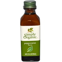 Simply Organic Peppermint Flavour 59ml
