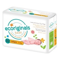 Ecoriginals Baby Eco Nappies Infant 5-9kg 32 Pack