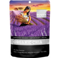Power Super Foods Organic Chia 200g