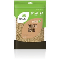 Lotus Organic Wheat Grain 1kg