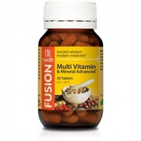 Fusion Health Multivitamin & Mineral Advanced 60 tabs