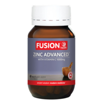 Fusion Health Organic Zinc Advanced 60 tabs