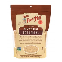 Bob's Red Mill Organic Brown Farina Creamy Rice Hot Cereal 737g