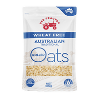 Red Tractor Wheat Free Australian Traditional Rolled Oats 600g (Blue)