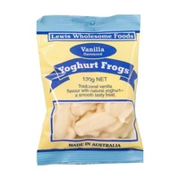 Lewis Wholesome Foods Yoghurt Frogs (Vanilla) 130g