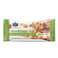 Brookfarm Macadamias & Cranberries Muesli Bar 35g