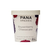 Pana Organic Boysenberry Cheesecake Ice Cream 475ml