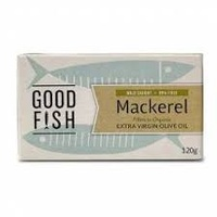 Good Fish Mackerel in Olive Oil (Can) 120g