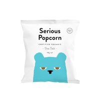Serious Popcorn Organic Sea Salt 18g